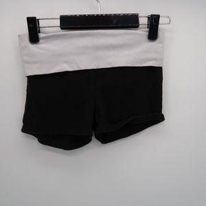 PINK Victoria's Secret Black Embellished Shorts